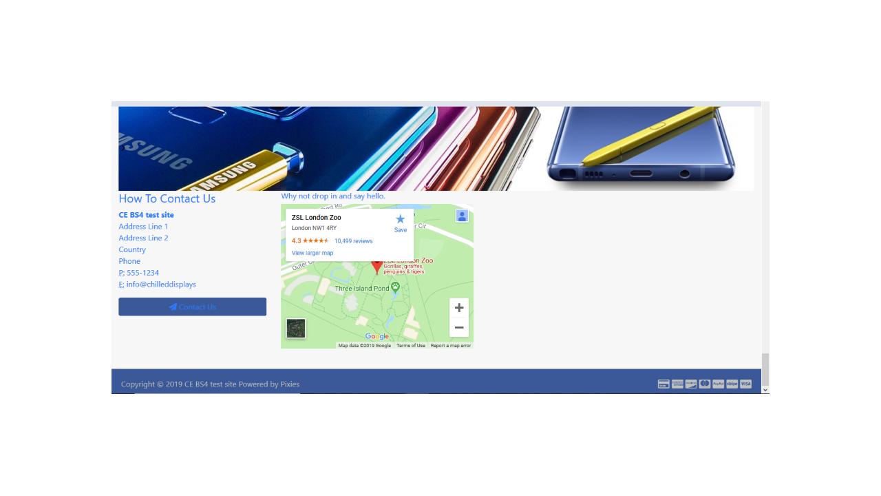 JcM footer Google Map V1 0   Apps Marketplace   osCommerce